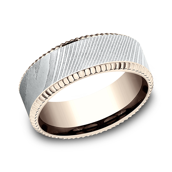 Ammara Stone Comfort-fit Design Wedding Ring CF358527DS14KR07 product image