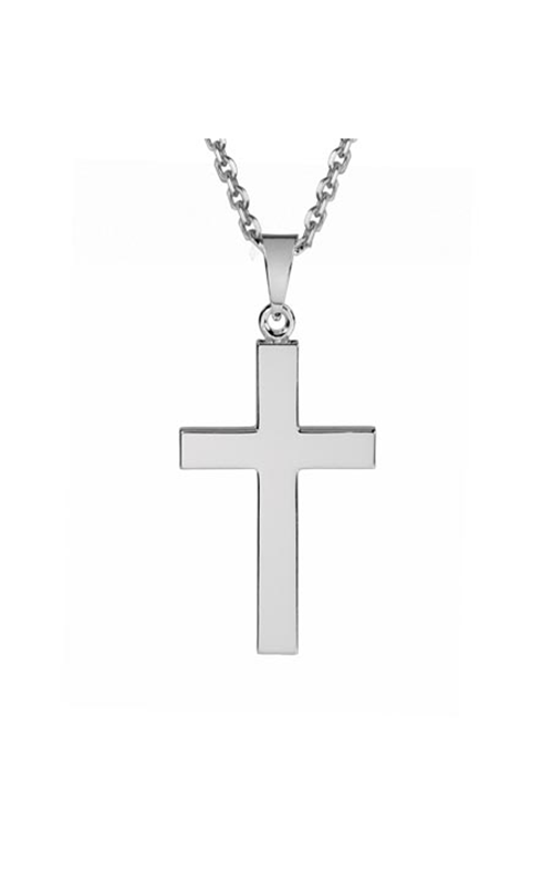 OPJ Silver Necklace SNE24AD product image