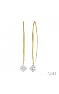 LOVEBRIGHT ESSENTIAL DIAMOND EARRINGS 925A5DHFHERYW product image