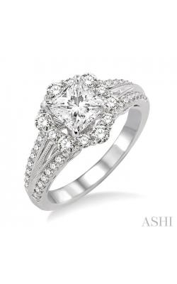 SEMI-MOUNT DIAMOND ENGAGEMENT RING 14322DHFRWG-SM product image
