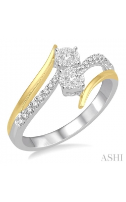 LOVEBRIGHT 2STONE DIAMOND RING 446B6DHFHWY product image