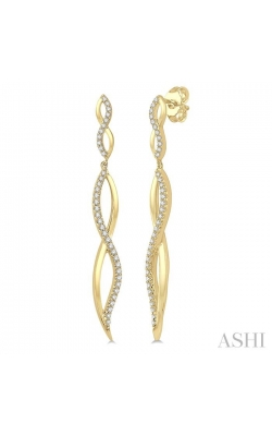 DIAMOND FASHION LONG EARRINGS 678D5DHFHERYG product image