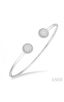 LOVEBRIGHT ESSENTIAL CUFF OPEN DIAMOND BANGLE 7991HDHFVWG product image