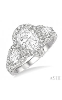 PEAR SHAPE DIAMOND ENGAGEMENT RING 265K0DHFHWG-LE-1.55 product image