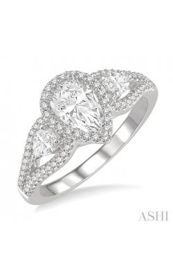 PEAR SHAPE DIAMOND ENGAGEMENT RING 265K2DHFHWG-LE product image