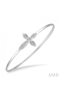 DIAMOND CROSS FLEXI BANGLE 85809DHSSSLBG product image