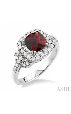 GEMSTONE & DIAMOND RING 51323DHFNGTWG product image