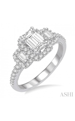 PAST PRESENT & FUTURE DIAMOND ENGAGEMENT RING 243C0DHFVWG-LE-1.35 product image
