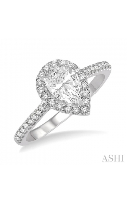 PEAR SHAPE DIAMOND ENGAGEMENT RING 243G4DHFHWG-LE product image