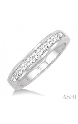 CHANNEL SET DIAMOND CURVED WEDDING BAND 35223DHFRW product image