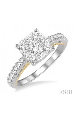 LOVEBRIGHT BRIDAL DIAMOND RING 135F0DHFVWY-1.05 product image