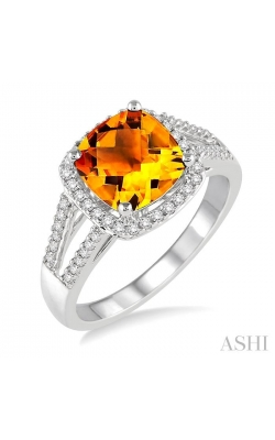 GEMSTONE & DIAMOND RING 51366DHTSCTWG product image