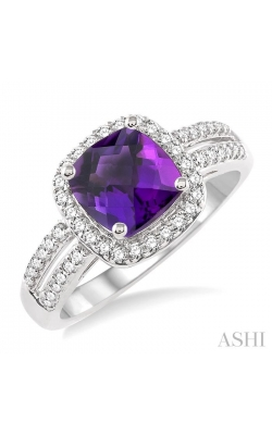 GEMSTONE & DIAMOND RING 52315DHFNAMWG product image