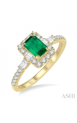 GEMSTONE & DIAMOND RING 42613DHFHEMYG product image