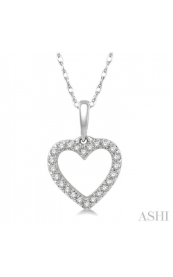HEART SHAPE DIAMOND PENDANT 626A8DHTSPDWG product image
