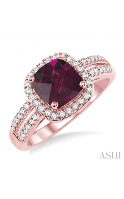 GEMSTONE & DIAMOND RING 52315DHFNRHPG product image
