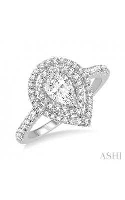 PEAR SHAPE DIAMOND ENGAGEMENT RING 244H3DHFHWG-LE product image
