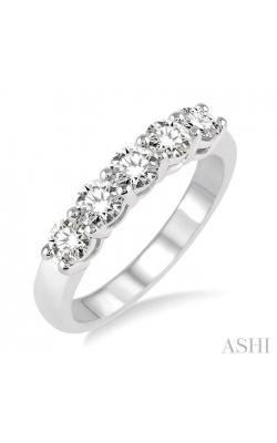 FIVE STONE DIAMOND WEDDING BAND 30981DHFHWG product image