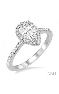 PEAR SHAPE DIAMOND ENGAGEMENT RING 214D3DHFVWG-LE product image