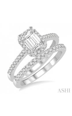 DIAMOND WEDDING SET 215D2DHFVWG-WS product image
