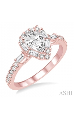 PEAR SHAPE DIAMOND ENGAGEMENT RING 257C1DHFVPG-LE product image