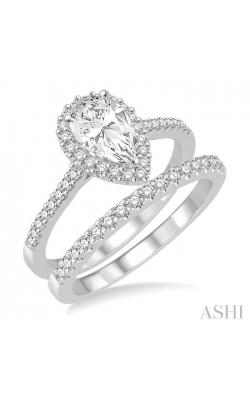 PEAR SHAPE DIAMOND WEDDING SET 214D2DHFVWG-WS product image