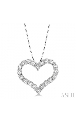 HEART SHAPE DIAMOND PENDANT 94051DHFGPDWG product image