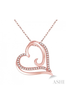 HEART SHAPE DIAMOND PENDANT 93788DHTSPDPG product image