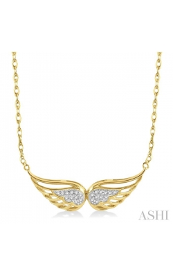 DIAMOND ANGEL WING NECKLACE 99459DHTSNKYG product image