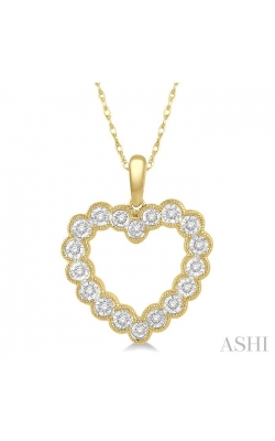 HEART SHAPE DIAMOND PENDANT 98228DHTSPDYG product image