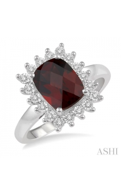 GEMSTONE & DIAMOND RING 50508DHTSGTWG product image