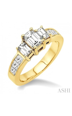 PAST PRESENT & FUTURE DIAMOND ENGAGEMENT RING 24370DHFR-LE-1.50 product image