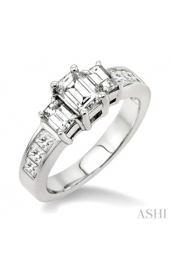 PAST PRESENT & FUTURE DIAMOND ENGAGEMENT RING 24370DHFRW-LE-1.50 product image