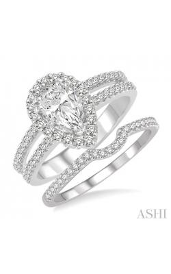 PEAR SHAPE DIAMOND WEDDING SET 22162DHFVWG-WS product image