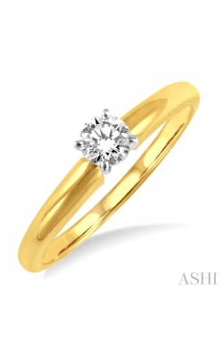 SOLITAIRE DIAMOND RING 16137DHFR product image