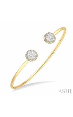 LOVEBRIGHT ESSENTIAL CUFF OPEN DIAMOND BANGLE 7991HDHFVYW product image