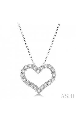 HEART SHAPE DIAMOND PENDANT 94053DHFGPDWG product image