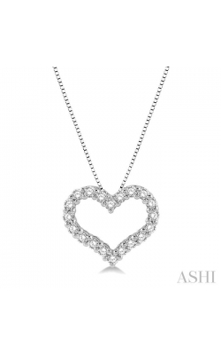 HEART SHAPE DIAMOND PENDANT 94056DHFGPDWG product image