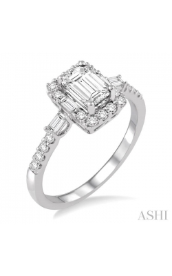 DIAMOND ENGAGEMENT RING 241C1DHFVWG-LE product image