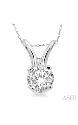 SOLITAIRE DIAMOND PENDANT 90128DHFNPDW product image