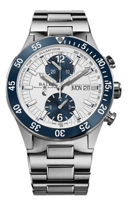 Ball Rescue Chronograph 41mm DC3030C-S1-WH