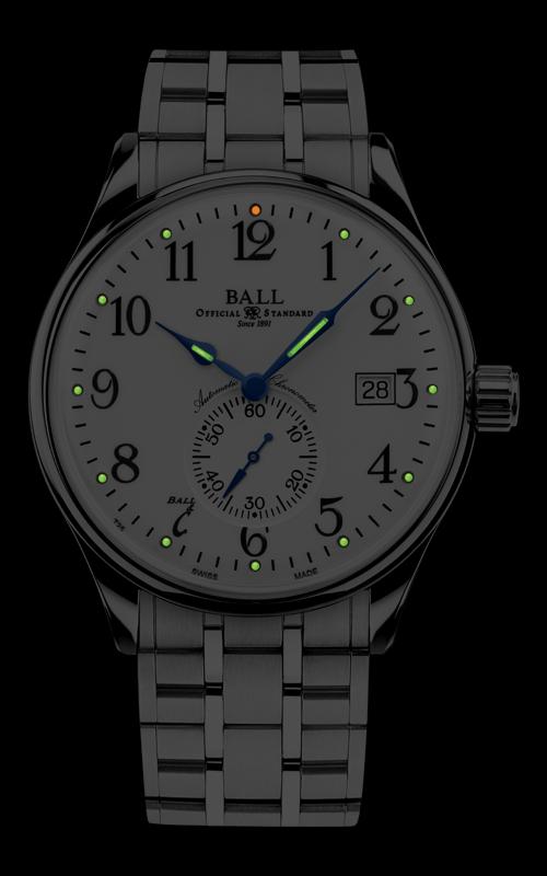 Ball Standard Time NM3888D-S1CJ-WH 2
