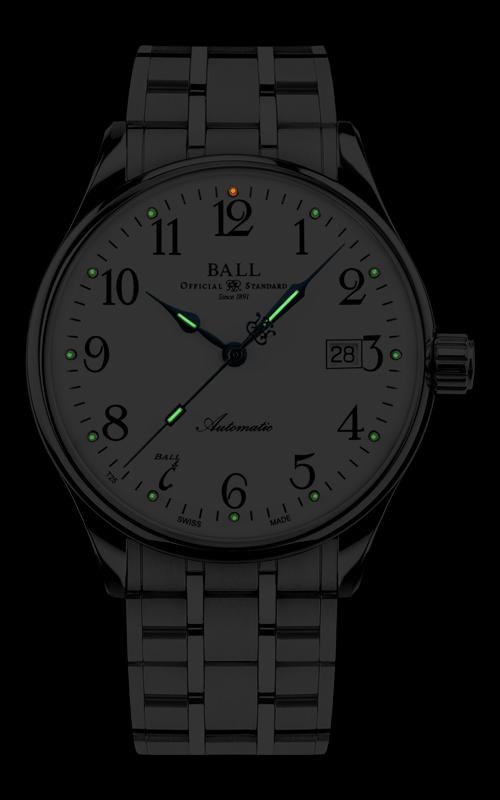 Ball Standard Time 135 Anniversary NM3288D-SJ-WH 2