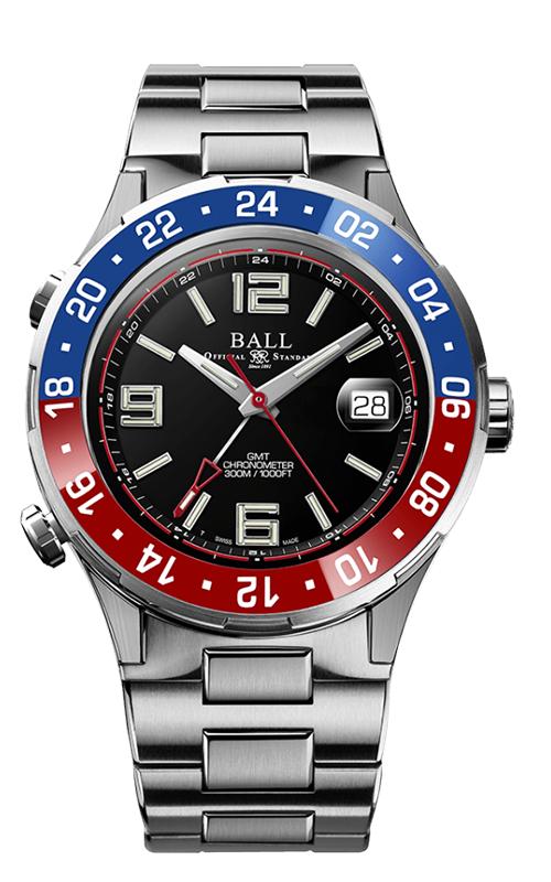 Ball Pilot GMT DG3038A-S2C-BK