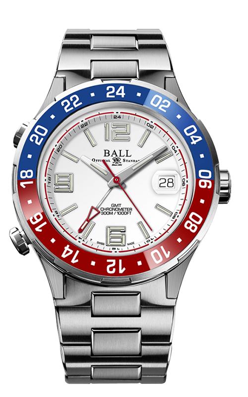 Ball Pilot GMT DG3038A-S2C-WH
