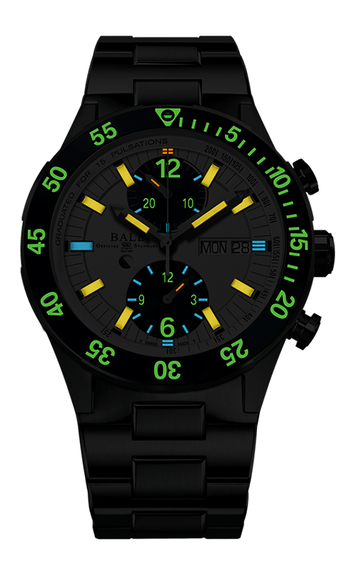 Ball Rescue Chronograph 41mm DC3030C-S1-WH 2