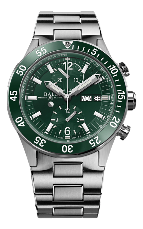 Ball Rescue Chronograph 41mm DC3030C-S2-GR