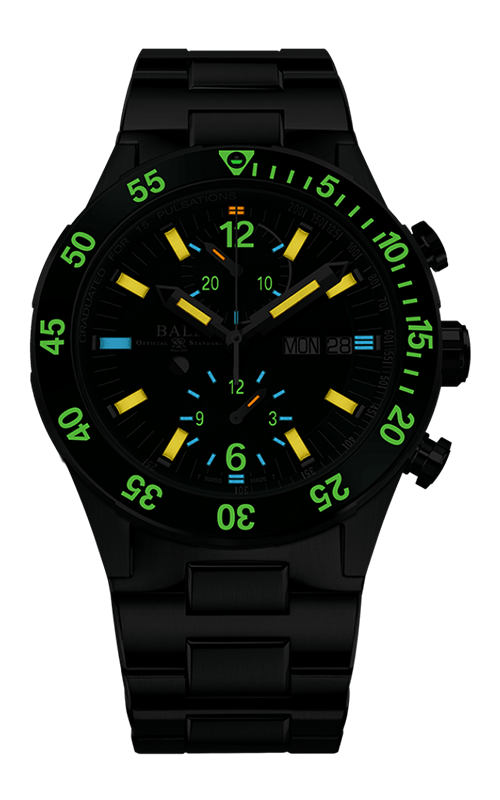 Ball Rescue Chronograph 41mm DC3030C-S2-GR 2