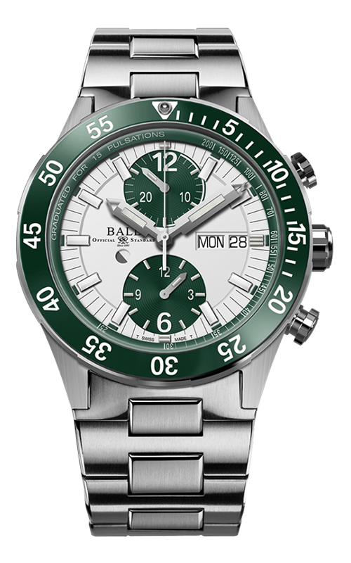 Ball Rescue Chronograph 41mm DC3030C-S2-WH