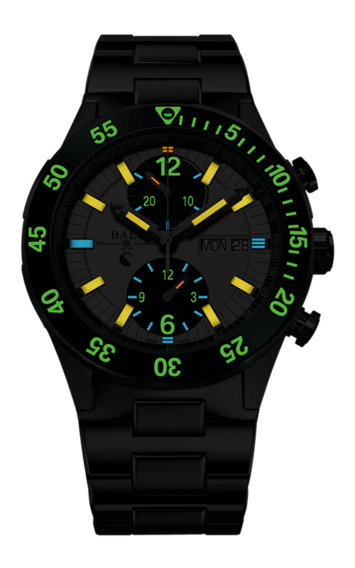 Ball Rescue Chronograph 41mm DC3030C-S2-WH 2